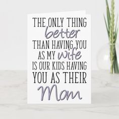Birthday Pregnant Mom Card   Zazzle.com Happy Mother Day Quotes, Mother Quotes, Happy Mothers Day, Mom Cards, Mothers Day Cards, Wife Quotes, Husband Quotes, Mother Day Message, Love Your Wife