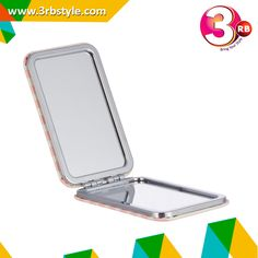A useful addition to any handbag or make-up bag, this lighted makeup mirror gives you a whole new perspective in what to expect from your compact. This super-slim mirror is Light weight, multi-purposed, convenient and easy to carry on. A perfect gift for girls, ladies and professional make up Ultra-thin Fashion design and compact size for your Briefcase, cosmetic bag or Travel Bag, carry it anywhere. Square pocket mirror makes the perfect make-up accessory.