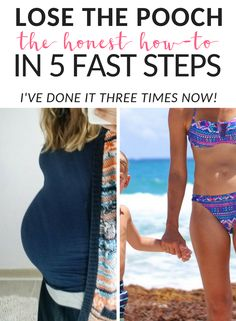 health and fitness: The Honest Way To Lose The Belly Pooch After Baby . Baby Belly Workout, Post Baby Workout, Post Pregnancy Workout, After Pregnancy, Pregnancy Tips, Pregnancy Fitness, Tummy Workout, Workout Days, Workout Challenge
