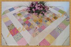 Toalha de mesa em patchwork Modelo Clássico