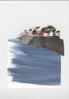 Port Isaac. Stacey Knights Illustration
