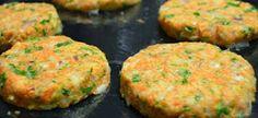 hambúrguer de cenoura >> cenoura é rica em vitamina A e vitamina C, boa parte do complexo B, além de cálcio, ferro, potássio, sódio e fósforo.