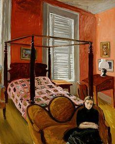 Fairfield Porter    In the Bedroom    1948