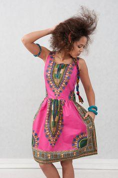 Dress from Gambia Addis Abeba by KOKOworld on Etsy