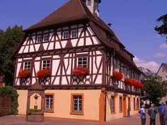 Rathaus Groetzingen, Germany