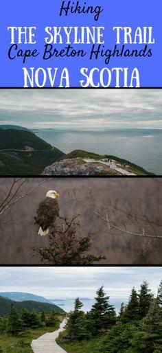 Hiking the Skyline Trail is a must-do adventure on Cape Breton Island. #Canada #nationalparks