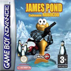 Emularoms: James Pond: Codename Robocod ( BR ) [ GBA ]