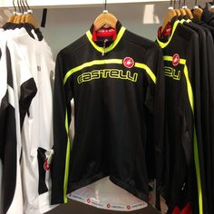 @Castelli Cycling jackets will keep you warm this Winter. Visit us in store to see our selection.