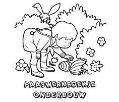 Paaswerkboekje voor de Onderbouw.   (klik voor de PDF)