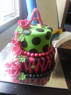 gateau fondant cake! Création Loulou!