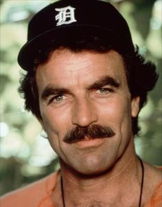 Tom Selleck - always proud of his Detroit roots!  Thump - thump goes my heart... Sigh....