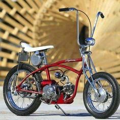 Motorized stingray bike