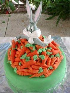 Bugs Bunny Cake.