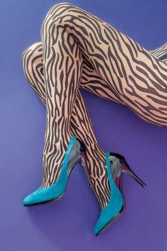 Woldford, Wilderness Zebra Tights @House of Fraser