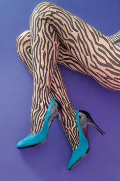 Woldford, Wilderness Zebra Tights @House of Fraser