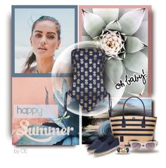 """Happy Summer"" by carmenecheve ❤ liked on Polyvore featuring Topshop, Tory Burch and Bobbi Brown Cosmetics"