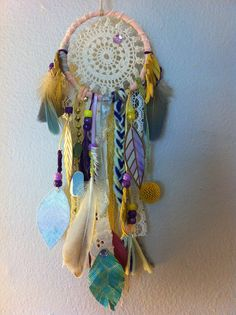 #dreamcatcher by Rachael Rice. Order yours at http://rachaelrice.com/art/custom-orders