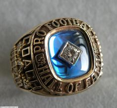 Pro Football Hall of Fame Alumni Ring