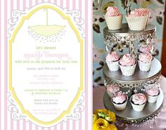 """Printed Pieces: While this """"Sprinkle"""" shower may look like a splurge, the entire package of printable PDFs is available on Paige's Etsy shop for just $30."""