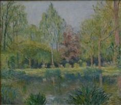 Pond at Giverny - Blanche Hoschede-Monet (step daughter of Claude)