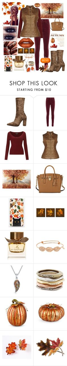 """""""Autumn Attire"""" by snowflakeunique ❤ liked on Polyvore featuring AG Adriano Goldschmied, Miss Selfridge, BRUNO MANETTI, MICHAEL Michael Kors, Lime Crime, Burberry, Bling Jewelry, Kendra Scott, Improvements and Anne Klein"""
