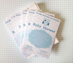 Print your own really cute baby shower invitations.