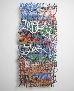 Graffiti Art – Paper Graffiti by Miriam Londono Graffiti Art, Graffiti Lettering, Haiku, Origami, Teen Art, Artistic Installation, Up Book, Sculpture Art, Paper Sculptures