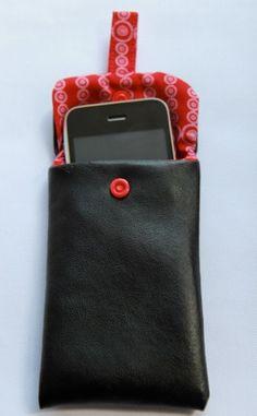 Comment réaliser un étui pour téléphone portable ? (TUTO inside)