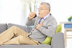 Chronic obstructive pulmonary disease (COPD) refers to a condition of chronic airflow limitation. Actually, COPD is an umbrella term for two separate diseases—chronic bronchitis (airway disease) an… Asthma Relief, Asthma Symptoms, Disease Symptoms, Aspiration Pneumonia, Whooping Cough, Home Remedy For Cough, Shortness Of Breath, Natural Treatments, Home Remedies