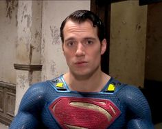 Practicing your pouty pucker up look Cavill, if you need I can help you with that anytime you want...lol!!! ;)