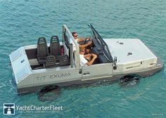 Tender to Exuma!  Award winning Exuma yacht charter  49m /161ft | Perini Navi | 2010. Expedition Superyacht with amphibious car for exploring remote exotic locations. #YachtCharters More photos & details visit: http://www.yachtcharterfleet.com/luxury-charter-yacht-24585/exuma.htm