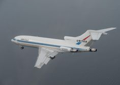 The final flight of the first Boeing 727 - Photo: Chuck Lyford and Jim Larsen