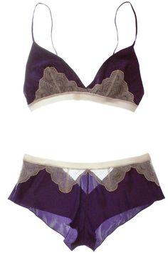 I love lingerie! Belle Lingerie, Lingerie Fine, Gorgeous Lingerie, Women Lingerie, Purple Lingerie, Lace Lingerie, Karl Kraus, Underwear, The Bikini