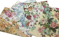 Solid Colors Italian Gift Wrap Paper Pack