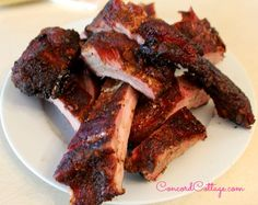 Easy Smoked Ribs you