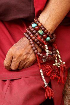 """thepaintedbench: """" Prayer Beads """""""