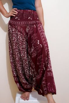 Thai Elephant Harem Pants Hippy Hippie / Aladdin by thaihippieboho, $20.00