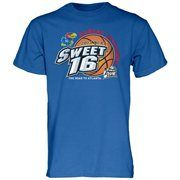 Kansas Jayhawks 2013 Men's Basketball Tournament Sweet 16 T-Shirt