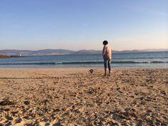 Ría Pontevedra, praia de Canelas. Galicia