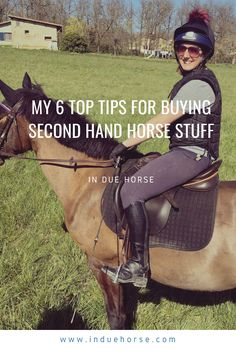 Horses are expensive! This is an equestrian blog about buying second hand horse stuff. #horses #horseriding #horsecare Horse Care, Everyone Knows, Horse Stuff, Golf Bags, Helping Others, Equestrian, Riding Helmets, Social Media, Hands