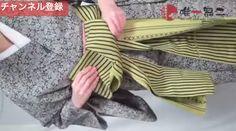 帯揚げ、帯締め、枕さえも使わない!半幅感覚で結べる名古屋帯 Nagoya