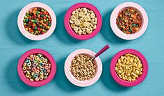Cereal--I eat it every single day, sometimes twice.