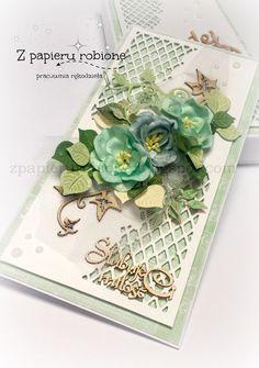 kartka ślubna w pudełku / wedding card:
