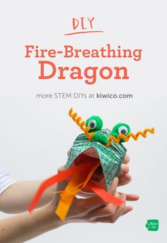Make a paper dragon with this Chinese New Year art project. You can make your dragon breathe by squeezing it like an accordion. New Year's Crafts, Fun Crafts, Crafts For Kids, Arts And Crafts, Paper Crafts, Diy Projects For Beginners, Stem Projects, Kid Projects, Lego For Kids