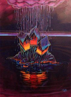 Beautiful Newfoundland artwork captured by artist Adam Young Adam Young, Young Art, Newfoundland And Labrador, Canadian Artists, Artist Painting, Amazing Art, Amazing Pics, Home Art, Art Projects
