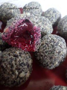 Süss Vanilinnel!: Meggyes-mákos zabgolyó Healthy Cake, Healthy Cookies, Healthy Sweets, Raw Food Recipes, Dessert Recipes, Cooking Recipes, Healthy Recepies, Food Obsession, Gluten Free Cakes