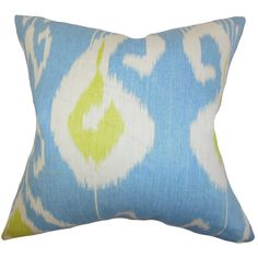 "Cleon 22"" x 22"" Down Feather Throw Pillow"
