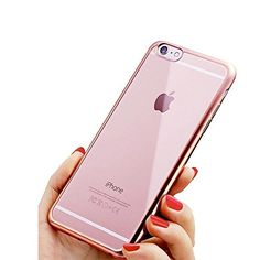 iPhone 7 Case, [Fusion] Rose Gold Back TPU Gel Case [Drop Protection/Shock Absorption Technology] For Apple iPhone 7 Case Buy Iphone 7, Iphone Se, Mobile Phone Cases, Iphone 8 Cases, Apple Iphone, Iphone Models, 6s Plus, Protective Cases, Drop