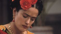 Hayek as Mexican artist Frida Kahlo in the 2002 film Frida, which was nominated for six Oscars, including best actress ...