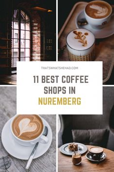 Where to try the best coffee in Nuremberg: 11 coffee shops that you should not miss and what to order there. #Nuremberg #Nurnberg #Germany #NurembergFood Best Coffee Shop, Great Coffee, Coffee Shops, Europe Travel Guide, Traveling Tips, Travel Guides, Travel Destinations, Coffee Around The World, Coffee With Alcohol